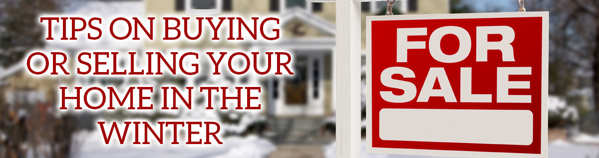 Buying or selling a home in winter