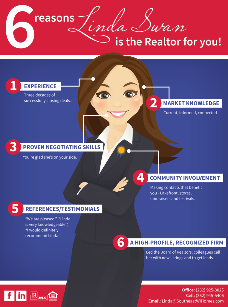 6 reason Linda Swan is the best realtor